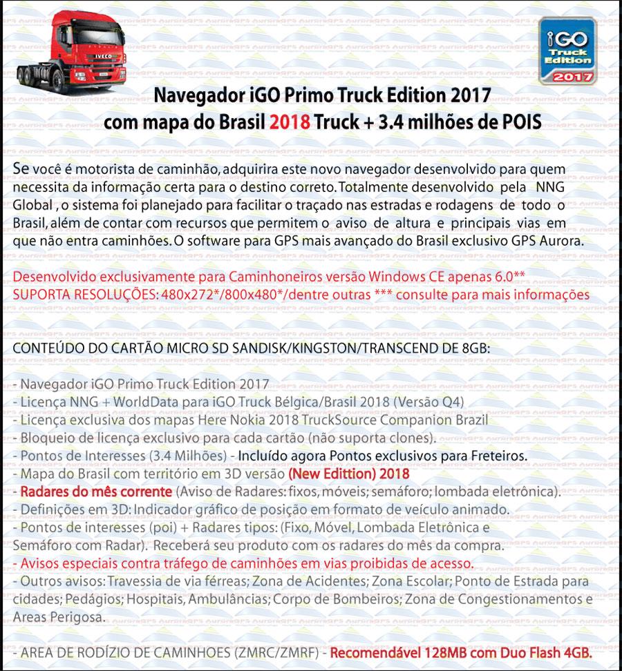 Navigation Truck 2016