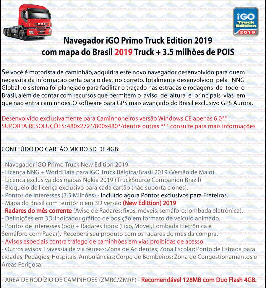 Navigation Truck 2019